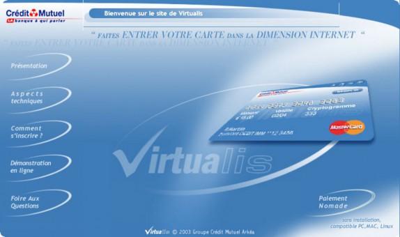 Carte Bancaire Gratuite Cmb.Virtualis La Cb Virtuelle Du Credit Mutuel Arkea Reconnue