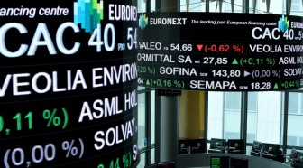 La Bourse de Paris finit en baisse de 1,11% à 4.799,87 points