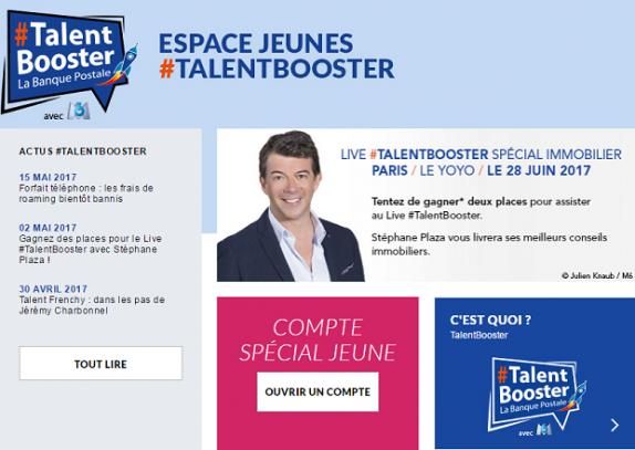 Avec Talentbooster La Banque Postale Veut Seduire Les Millenials