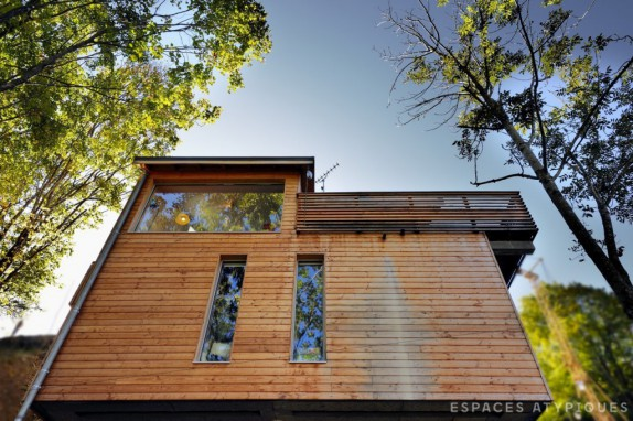 en images a vendre maison d 39 architecte en savoie. Black Bedroom Furniture Sets. Home Design Ideas