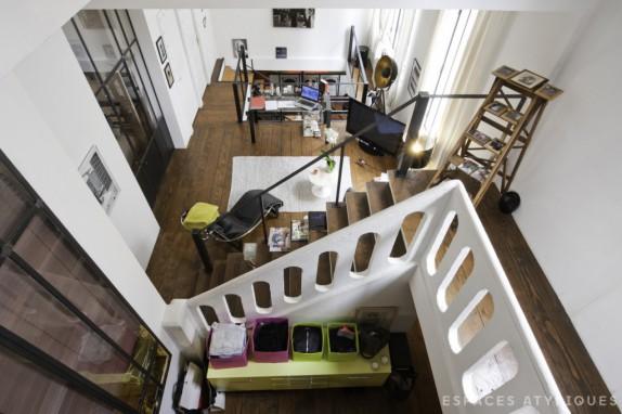 En images a vendre ancien atelier de photographe r am nag en loft - Ancien atelier a vendre ...
