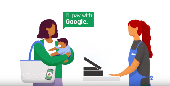 VIDEO. Google teste une solution de paiement sans les mains