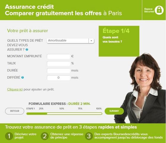 assurance pret immobilier en ligne