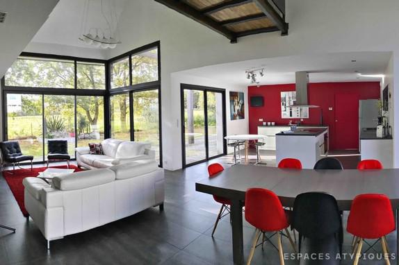 Maison architecte nantes dcoration faade maison de for Prix m2 maison architecte