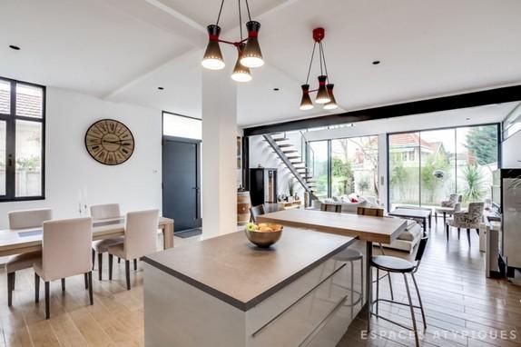 En Images A Vendre Maison Loft Bordeaux