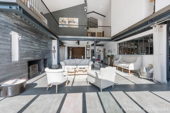 En images a vendre chaudronnerie r am nag e en maison loft - Vendre un terrain en indivision ...