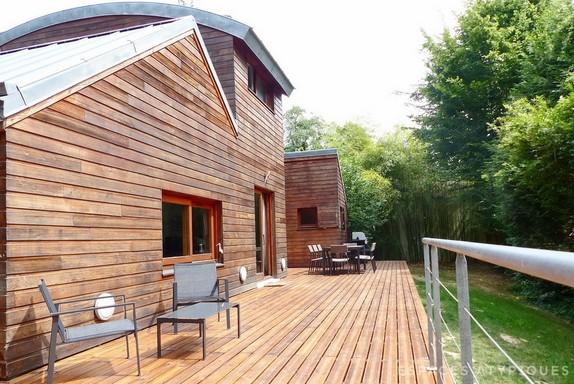 En images a vendre maison d 39 architecte orgeval - Vendre une maison en indivision ...