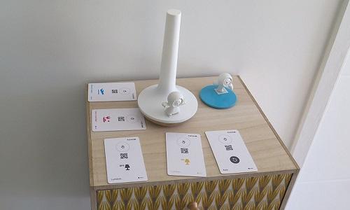 Le Hue Bloom, un des objects connectés de Flexom.